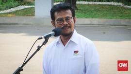 Mentan Sambangi KPK Bahas Impor hingga Subsidi Pupuk