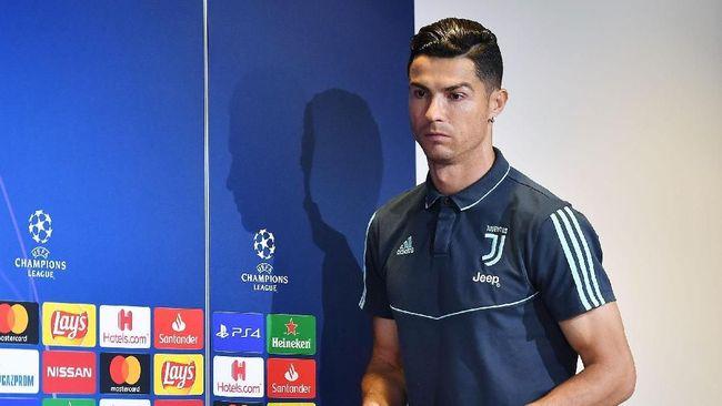 Ronaldo 'Dikarantina' di Portugal karena Corona