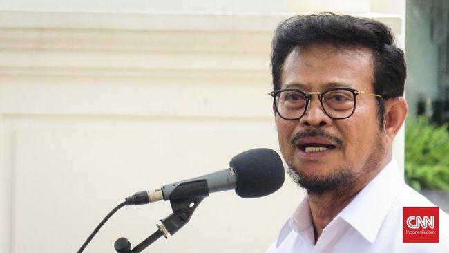 Menteri Pertanian Syahrul Yasin Limpo membantah kenaikan harga pangan, terutama cabai.