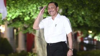 5 Jabatan Luhut di Era Jokowi