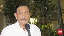 Luhut Tegaskan Pembangunan di Bali Tetap Jalan Meski Pandemi