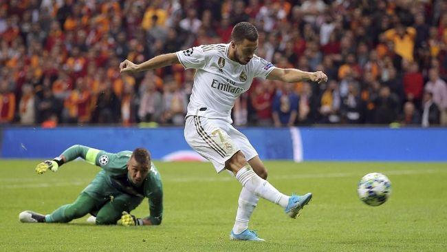 Eden Hazard cuma punya waktu dua pekan jelang El Clasico antara Real Madrid vs Barcelona pada lanjutan La Liga di Stadion Alfredo di Stefano.