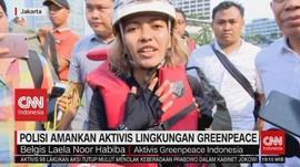 VIDEO: Polisi Amankan Aktivis Lingkungan Greenpeace