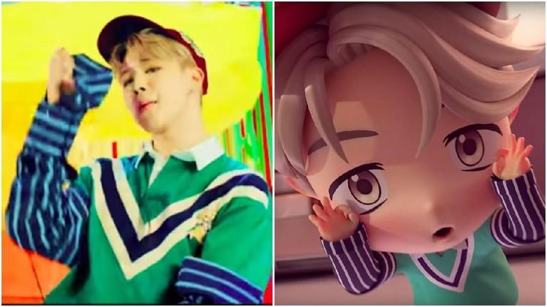BTS mengeluarkan merchandise terbaru yaitu miniatur yang diadaptasi dari video musik IDOL. Kalau Insertizen suka yang mana? Versi asli atau miniatur?