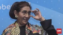 Netizen Riuh Susi Pudjiastuti Balas Cuitan Profesor Unair
