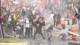 VIDEO: Situasi Memanas, Presiden Chile Akan Temui Demonstran