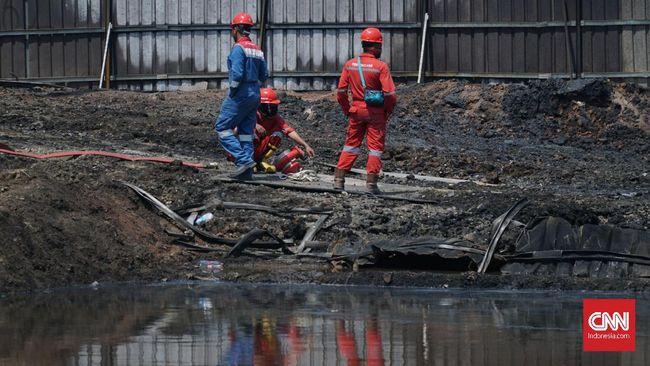 Polisi akan melakukan olah TKP pipa minyak yang terbakar akibat proyek kereta cepat di kawasan Cimahi karena menunggu sterilisasi petugas Pertamina.