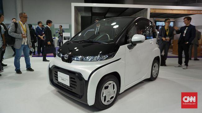 Mobil Listrik Mungil Toyota Disebut Cocok Untuk Lansia