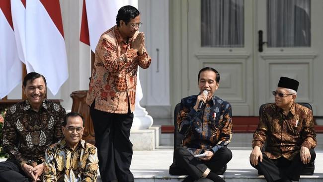 Jokowi dan Mahfud MD Didesak Turun Tangan di Kasus TWK KPK