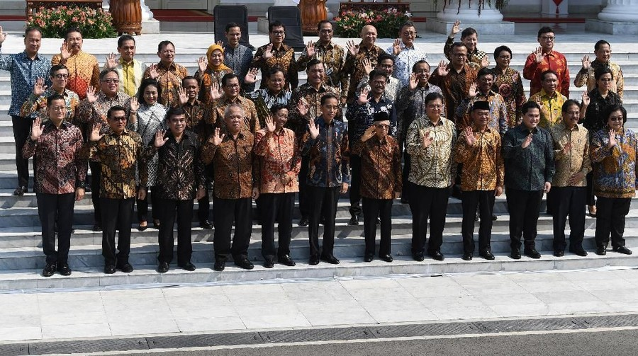 Profil 5 Srikandi di Jajaran Menteri Kabinet Indonesia Maju Jokowi-Ma'ruf