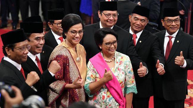 Menteri Keuangan Sri Mulyani mengingatkan menteri muda Kabinet Indonesia Maju tidak fokus pada ide dan inisiatif, namun melupakan belanja kementeriannya.