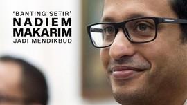 VIDEO: 'Banting Setir' Nadiem Makarim Jadi Mendikbud