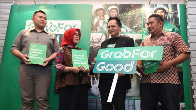 Grab menyumbang ekonomi di Kota Bandung Rp10,1 triliun pada 2018 melalui penciptaan lapangan kerja dan peningkatan pendapatan mitra.