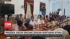VIDEO: Presiden Jokowi Bincang Dengan Wartawan Istana