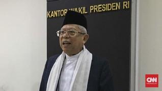 Ma'ruf Cek Kesiapan Sekolah dan Pesantren di Sukabumi