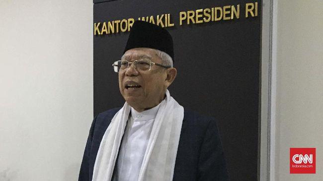 Wakil Presiden Ma'aruf Amin menilai sertifikasi dai bakal membantu penceramah makin berkompeten dan menguasai materi dakwah.