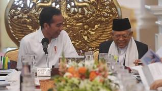 Jokowi-Ma'ruf Beda Suara Soal Pilkada di Masa Pandemi