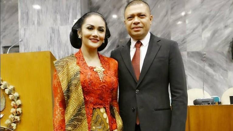 Sebelum ada isu perselingkuhan, Raul Lemos sempat memberi pesan menyentuh soal Krisdayanti usai dilantik.