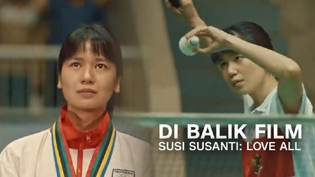 VIDEO: Cinta, Keringat, dan Haru di 'Susi Susanti: Love All'