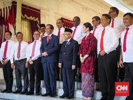 Gaji Yang Bakal Diterima 12 Wamen Pilihan Jokowi