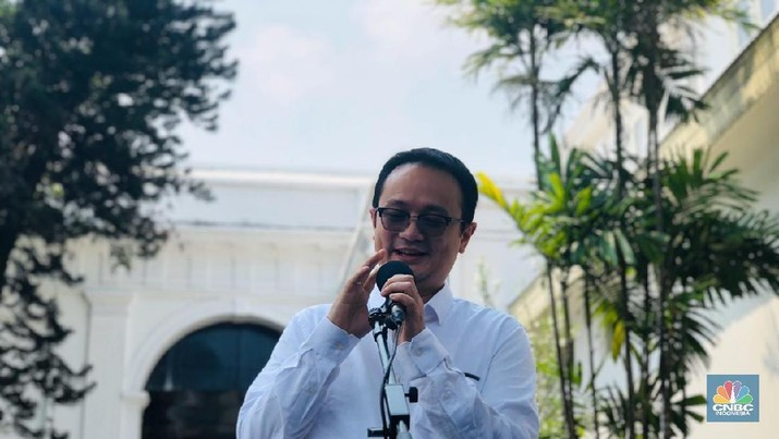 Wakil Menteri Perdagangan Jerry Sambuga (CNBC Indonesia/Chandra Gian Asmara)