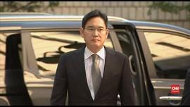 VIDEO: Wakil Presiden Samsung Jalani Sidang Kasus Korupsi