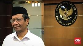 Mahfud MD Pastikan Akan Bahas Penuntasan Kasus HAM Masa Lalu