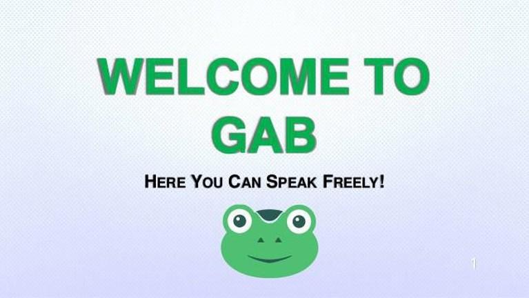 Gab. Aplikasi yang menyerupai Twitter ini dikenal dengan kebebasannya bagi para pengguna untuk mengunggah pesan-pesan berisi ujaran kebencian. Bahkan atas hal itu iOS dan Android menolak keberadaan sosial media ini.