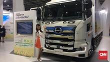 Truk Hybrid Hino Mampu Irit BBM dengan Kecerdasan Buatan