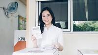 Angela Tanoesoedibjo baru saja ditunjuk oleh Presiden Jokowi sebagai Wakil Menteri Pariwisata dan Ekonomi Kreatif Kabinet Indonesia Maju. (Foto: Instagram @angelatanoesoedibjo)