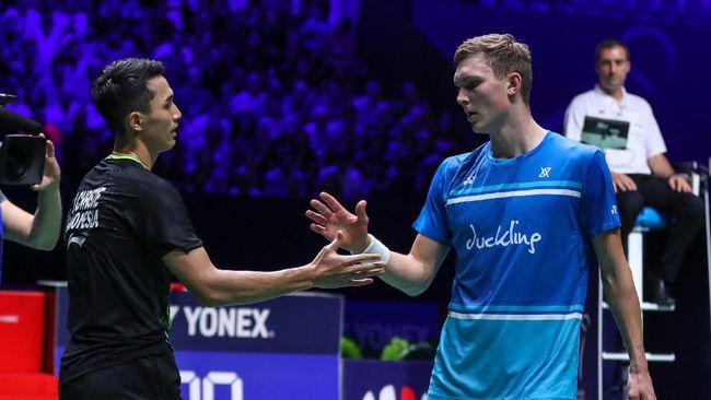 Jonatan Christie di French Open 2019. (dok. PBSI)