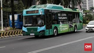 Anies Sebut Bus Baru Transjakarta Bakal Berbasis Listrik