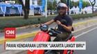 VIDEO: 500 Kendaraan Listrik di Pawai