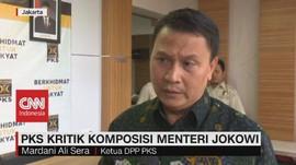 VIDEO: PKS Kritik Komposisi Menteri Jokowi
