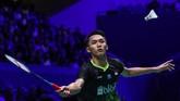 Jonatan Christie lalu menjadi wakil kedua Indonesia yang lolos ke final French Open 2019.(dok. PBSI)