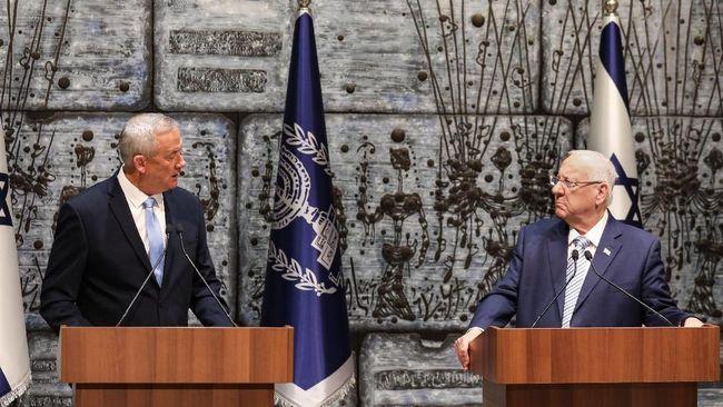Benjamin Netanyahu dan Benny Gantz bertemu untuk membicarakan pembentukan koalisi setelah pemilu Israel menunjukkan hasil imbang antara kedua calon PM.