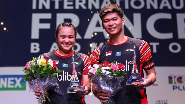 Kemenangan di French Open menambah kepercayaan diri Praveen/Melati yang merupakan ganda campuran nomor satu di Indonesia saat ini.(dok. PBSI)