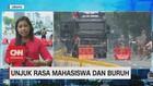 VIDEO: Demo Mahasiswa, Jalan Merdeka Barat DiJaga Ketat