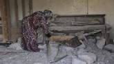 Pemimpin ISIS, Abu Bakr al-Baghdadi, dilaporkan tewas dalam serangan gabungan di Suriah pada akhir pekan lalu yang meninggalkan jejak-jejak kehancuran.