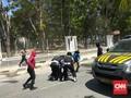 Polisi-Mahasiswa Bentrok di Kendari, Batu Lawan Gas Air Mata