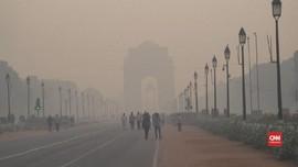 VIDEO: Kualitas Udara India Memburuk Usai Festival Cahaya