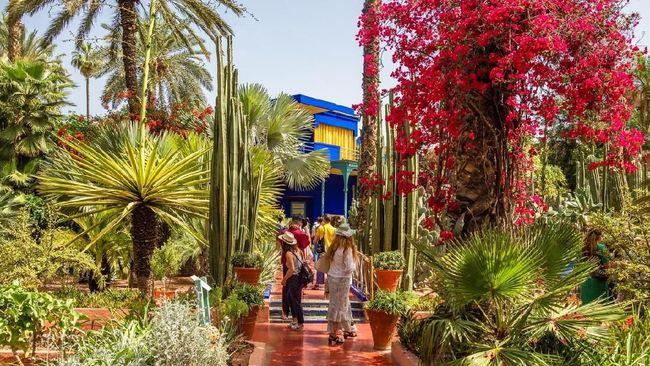 David Chang dan Chrissy Teigen melancong ke Marrakesh, Maroko, dalam tayangan 'Breakfast, Lunch & Dinner' yang tayang di Netflix.
