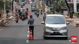 Urai Kemacetan, Jalan Kemang Raya Dibagi Jadi 3 Lajur