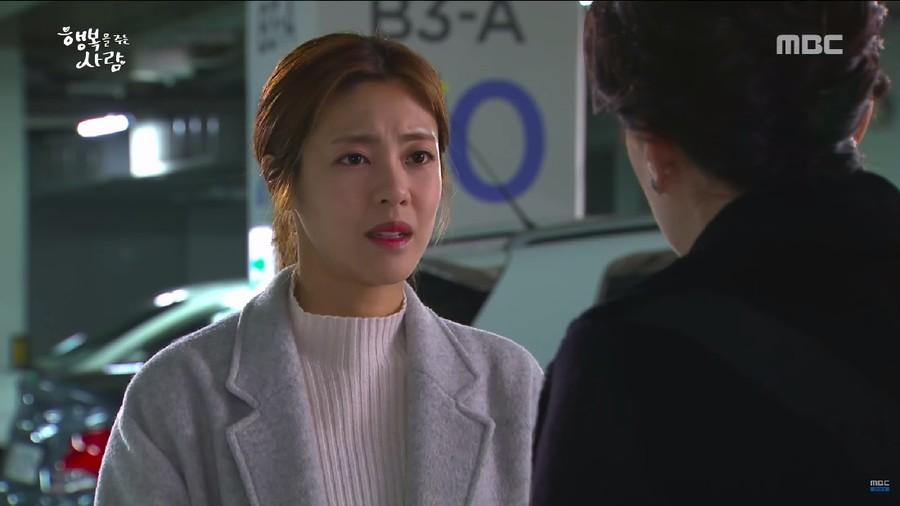Drama Korea Person Who Gives Happiness Eps.34, Nyonya Park Mengancam Gun Sook