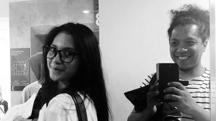 Tidak direstui ibunda, Indah Permatasari membagikan alasan ia mencintai Arie Kriting di media sosialnya.