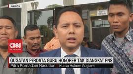 VIDEO: Tak Kunjung Diangkat PNS, Guru Honorer Gugat Perdata
