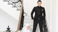<p>Diperkuat dengan restu keluarga, Ciki dan Rezky pun mantap melangkah ke pelaminan untuk mngingat janji suci. (Foto: Diera Bachir)</p>