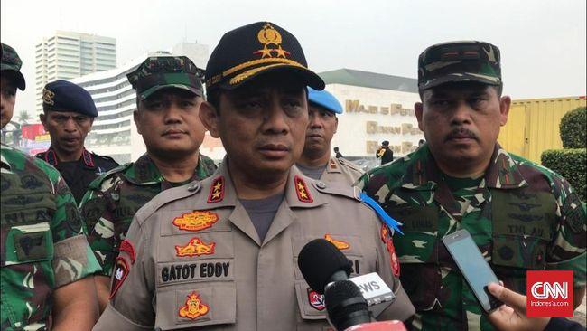 Pangdam Jaya Mayor Jenderal Eko Margiono meminta pemotor tak berteduh di terowongan saat hujan karena dapat menimbulkan kemacetan.