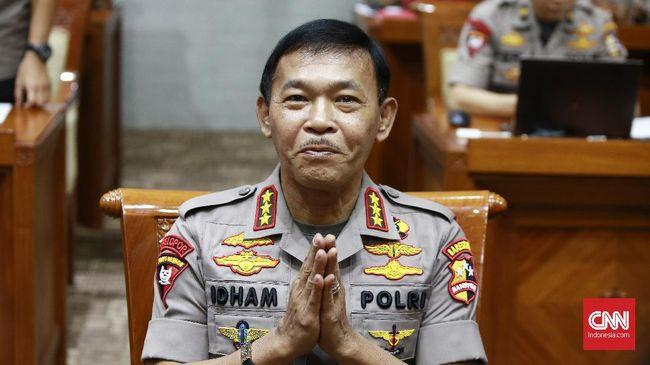Idham Azis telah ditetapkan Komisi III DPR sebagai Kapolri yang baru menggantikan Tito Karnavian.