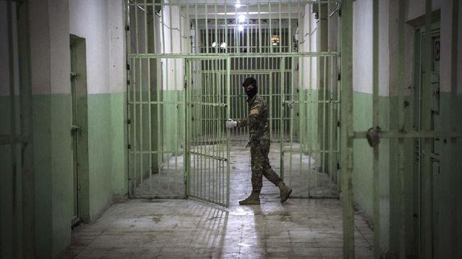 Kekhawatiran soal penyebaran Covid-19 di penjara sudah diungkapkan Uni Eropa yang mendorong negara mengurangi jumlah narapidana.